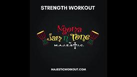 Ngoma Jam n' Tone - STRENGTH WORKOUT