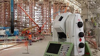 Midfield Terminal Building - 3D Laser Scanning