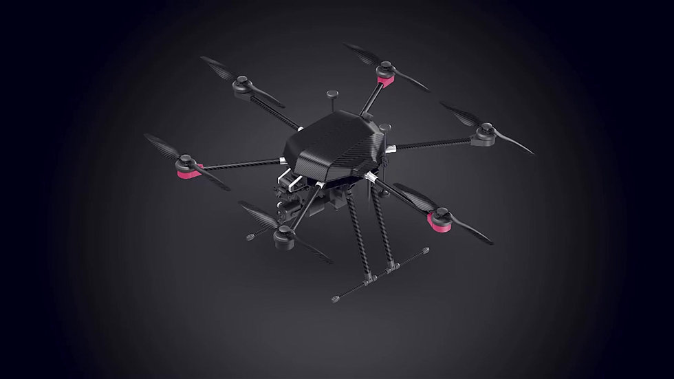 QL 1200 Petrol-electric hybrid drone