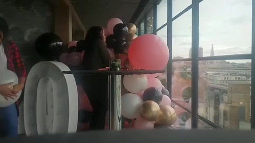 Balloon Wall - Radisson Blu Edwardian
