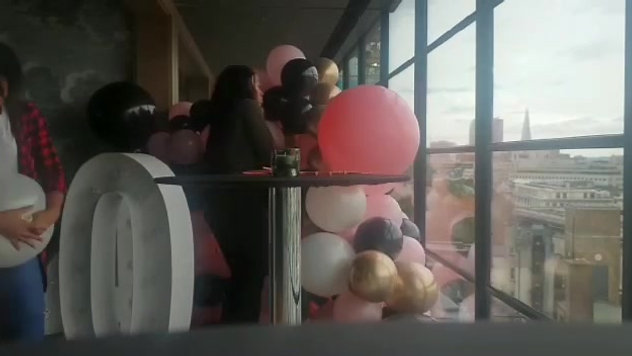 Balloon Wall - Radisson Blu Edwardian
