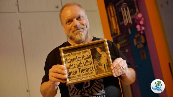 Reinhard Nowak für das Tierschutzvolksbegehren