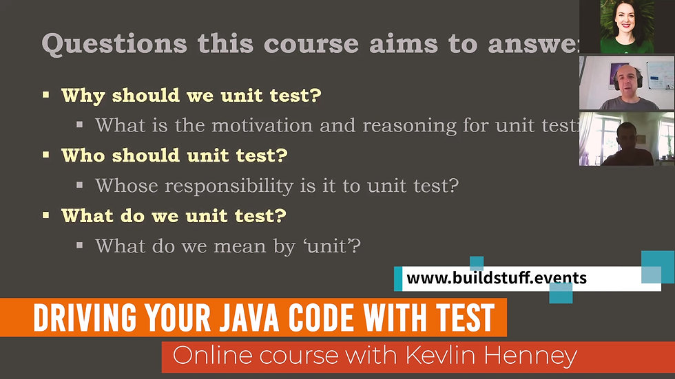 Kevlin Henney - Driving Your Java Code with Tests