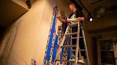 Live Mural Paint at Brooklyn Parlor Shinjuku