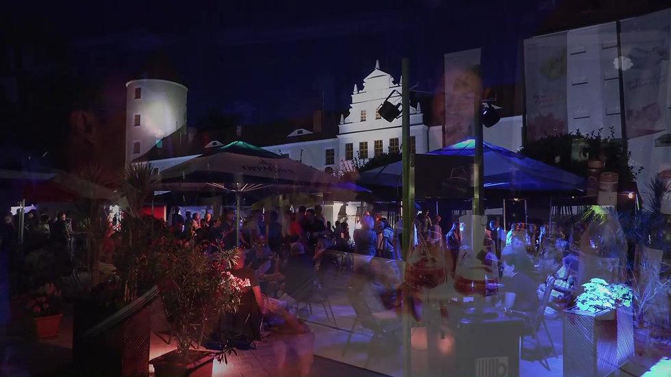 Weinstand auf dem Bergstadtfest 2019