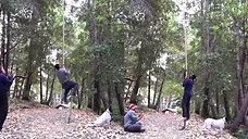 Vertical Rope Climb Race