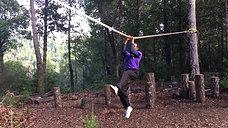 Horizontal Rope Climb