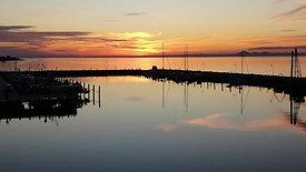 Clip 10 - Portarlington Harbour Sunset
