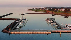 Clip 7 - Portarlington Harbour Sunset