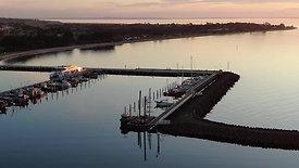 Clip 5 - Portarlington Harbour Sunset