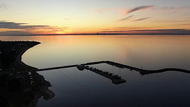 Clip 1 - Portarlington Harbour Sunset