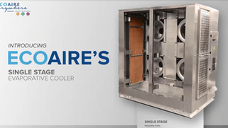 Single Stage Evaporative Cooler