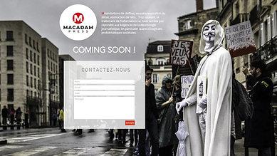 macadam-press