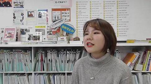JIN東京日本語学校卒業生 早稲田大学人間科学研究科 易肖和さん