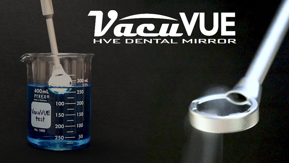 The VacuVUE HVE Mirror