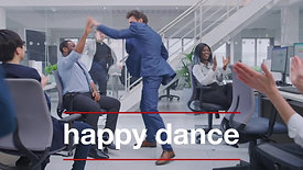 Happy dance for great content