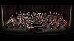 Rachmaninoff Rhapsody (excerpts) Clara Yang piano, Tonu Kalam conductor, UNC Symphony