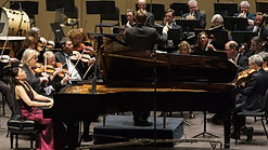 Mozart K. 503 excerpts, Clara Yang, piano, George Jackson, conductor, Winston Salem Symphony