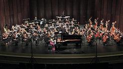Shostakovich Concerto No. 2 (excerpt) Clara Yang piano, Tonu Kalam conductor, UNC Symphony