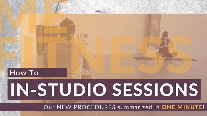 How To IN-STUDIO Session
