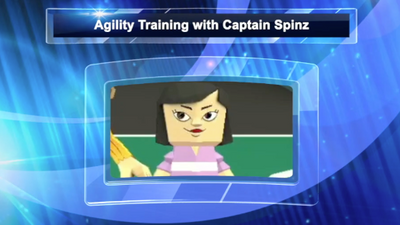 TIME SQUAD LEVEL 3 AGILITY WITH CAPTAIN SPINZ