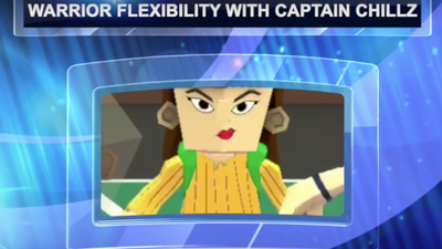 TIME SQUAD LEVEL 2 CAPTAIN CHILLZ WARRIOR FLEXIBILITY
