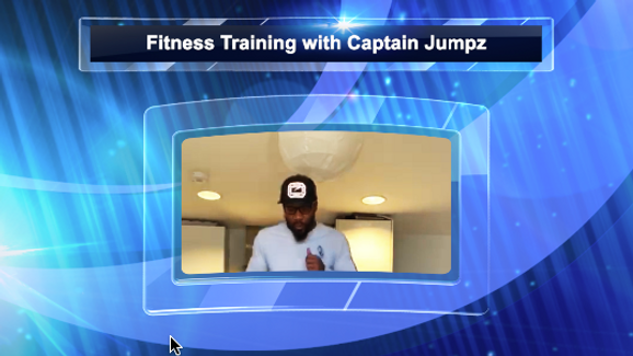 TIME SQUAD LEVEL 1 CAPTAIN JUMPZ FITNESS TRAINING