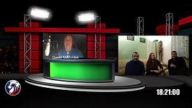 První vysílání studia Občanskoho hnutí