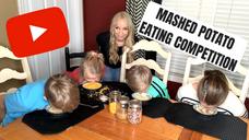 Mashed Potato Eating Competition