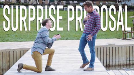 Surprise Proposal!