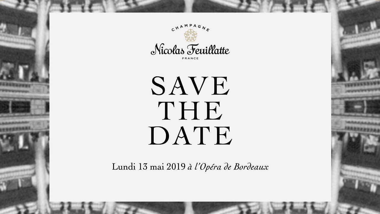 Nicolas Feuillatte : Save the Date