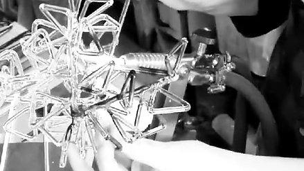 Glas opleiding flamework Krista israel