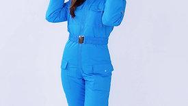 Sky blue membrane with pockets