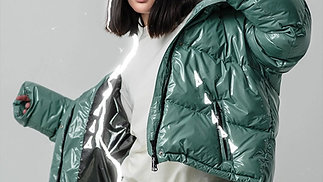 MENTHOL CANDY MONCLER DOWN JACKET
