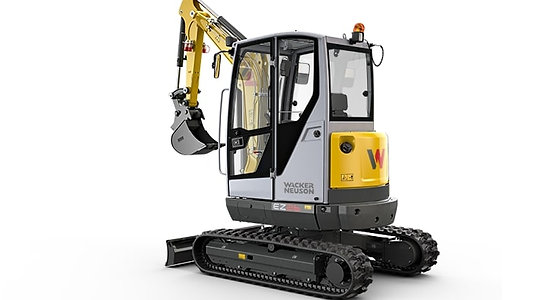 Wacker Neuson 2.5 Ton Zero Swing Excavator