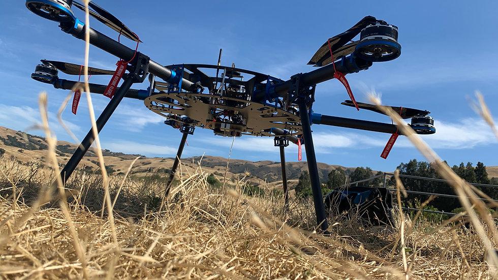 Industrial Drone Test Flight