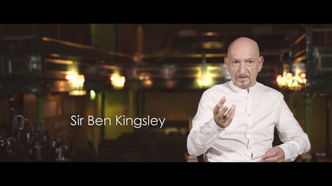 Sir Ben Kingsley on Playbox