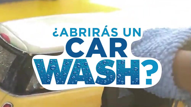 ¿ABRIRÁS UN CAR WASH?