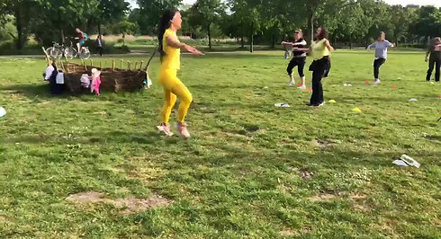 Zumba Party under the Sun with Mabel