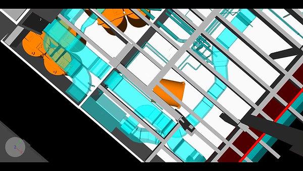 Calmac Ice Tank Rigging Path vs Existing Conditions