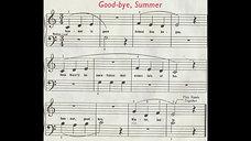 Goodbye Summer - Lesson