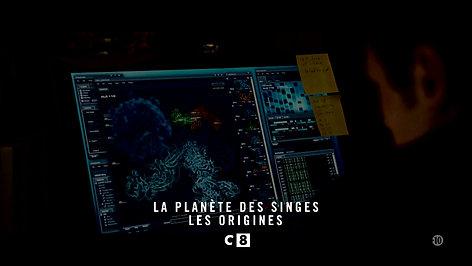 """Bande annonce C8 - """"La Planète des Singes - Les Origines"""""""