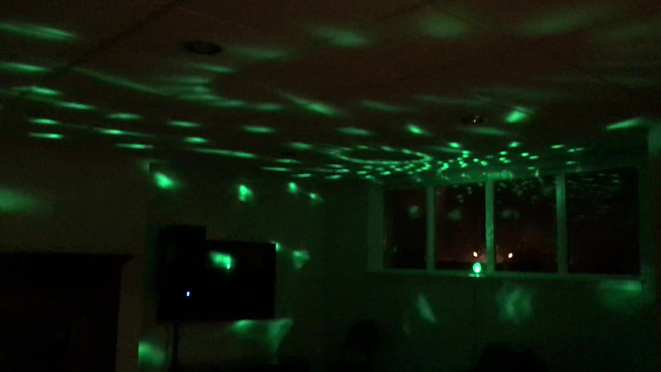 Transform your house into a nightclub