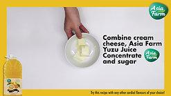 No-Bake Japanese Yuzu Cheese Cake Recipe