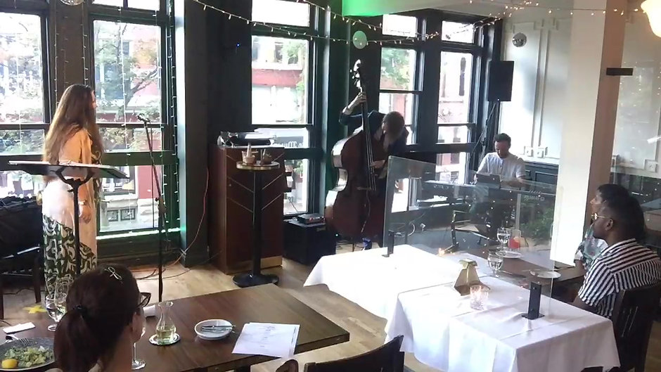 Bonnie Northgraves Trio Live @ 2nd floor Water Street Cafe
