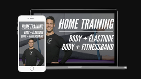Training body + Élastique/Fitnessband