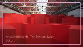 Anya Hindmarch - LFW Postbox Maze