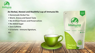 Immuno Herbal Tea product Promotional Video