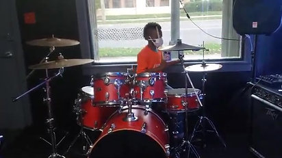Drum Student - 8 years old
