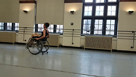 Choreography For Wheelchair Dancer